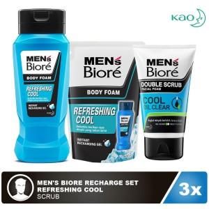 Men's Biore Recharge Set - Refreshing Cool
