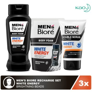 Men's Biore Recharge Set - White Energy