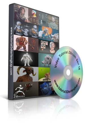 Video Tutorial Mastering ZBrush 2018 Seri 16