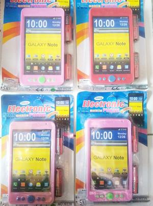 Image of tradisonal mainan anak mainan hape android samsung set batre