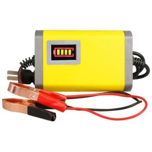 Charger Aki Motorcycle Car Battery Charger 12V/2A with indikator