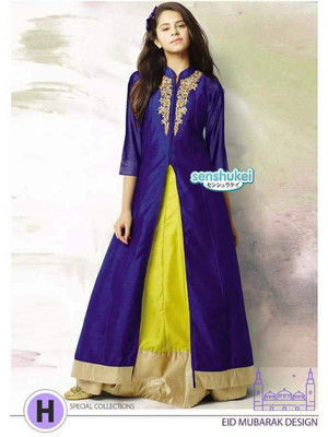 GAMIS ANAK SENSHUKEI31 INDIA PURPLE Size 2-7th / BAJU INDIA ANAK