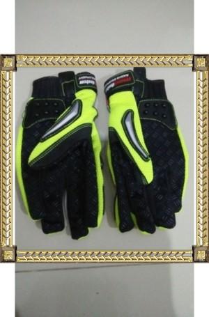 Sarung Tangan Gloves Bikers Mad Bike Besi Type MAD-01 S Hijau Stabilo