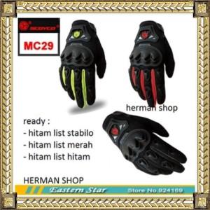 Sarung tangan SCOYCO MC 29/MC29 FULL/ Gloves Scoyco MC29 ORIGINAL