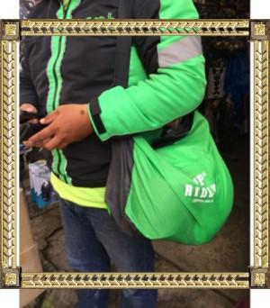 Tas Helm / Helmet Cover - TOP RIDER Murah Meriah