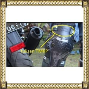 (tulisan TMKP) DECKER AXO TMKP - HITAM - Pelindung Siku dan Lutut ORI