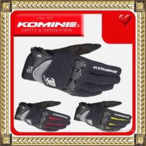 Sarung Tangan / Gloves Komine GK162 (KOMINE GK-162)bisa touchscreen HP