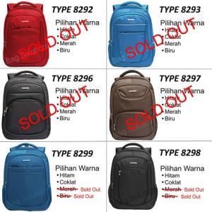 Navy Club Tas Ransel Laptop Tahan Air - 15 inch - Bonus Bag Cover