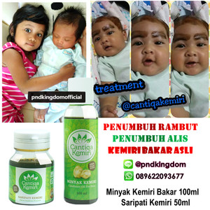 jual cantiqa kemiri penumbuh rambut alis bayi s/d dewasa (100 Minyak Dan Saripati Cantiqa Kemiri