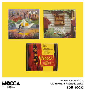 PAKET CD MOCCA FRIENDS