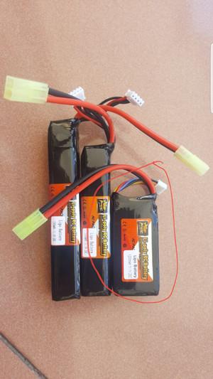 Zop power kotak kecil 1200mAh 20C