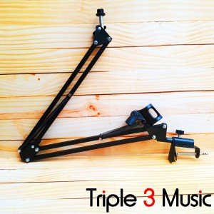 Stand Microphone Broadcast radio stand Mic meja stand recording robot