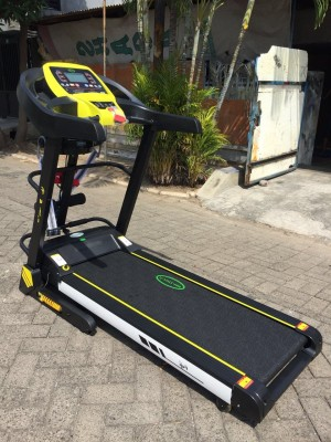 Alat fitness lari 4 fungsi FC FUJI M treadmill elektrik olahraga