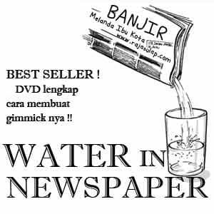 Water In Newspaper