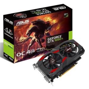VGA Nvidia ASUS GTX 1050 Ti OC CERBERUS 4GB DDR5 DUAL FAN
