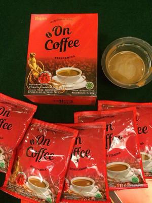 On Coffe Kopi Penambah Vitalitas Pria Kejantanan dan Gairah