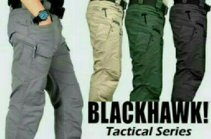 Fashion Pria / Celana Panjang / Tactical, Blackhawk, Army, Outdoor