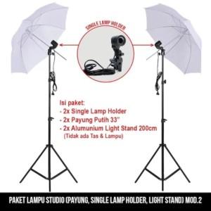 Paket Lampu Studio Type 2