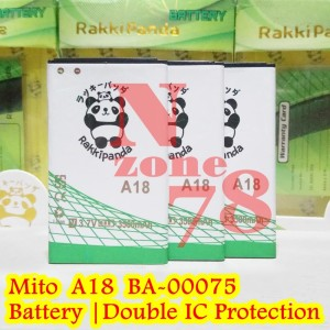 Baterai Mito A18 Fantasy Selfy-2 BA-00075 Rakkipanda Double Power