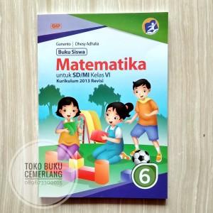 Jual Buku Siswa Matematika Kelas 6 Sd Gap Erlangga Kurikulum 2013 Revisi Kota Semarang Toko Buku Cemerlang Tokopedia