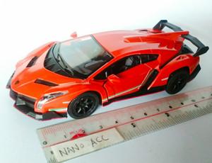 mainan die cast miniatur lamborghini veneno super sport car