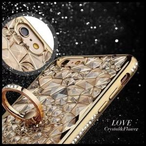 CASE / CASING HP SAMSUNG GALAXY J7 CORE LOVE FLOWER LIST DIAMOND BUNGA