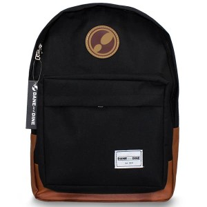 Tas Ransel Dane and Dine Backpack Class Black - Brown