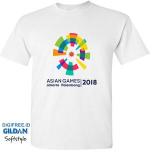 T-Shirt Kaos Asian Games 2018 Logo Premium Tshirt