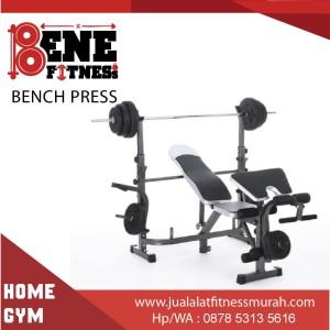 BENCH PRESS multigym alat fitness dada chest multi gym fitnes olahraga