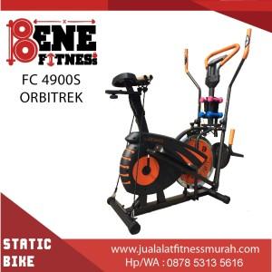 Sepeda Statis Alat Fitness FC 4900S orbitrek 6F olahraga fitnes speda