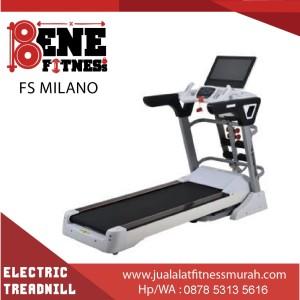 Treadmill Elektrik BESAR FS MILANO alat fitness lari olahraga fitnes
