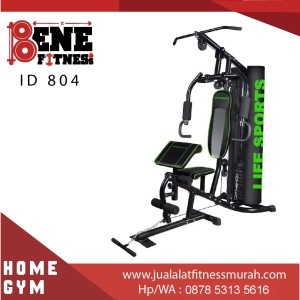 Alat Fitness multigym HOME GYM ID 804 LIFE SPORTS multi fitnes