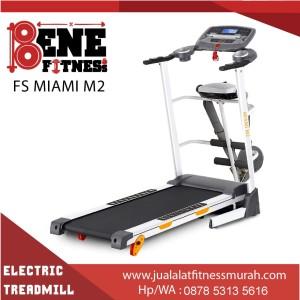 Treadmill elektrik lari alat fitness FS MIAMI M2 olahraga fitnes