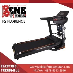 treadmill elektrik alat fitness FS FLORENCE lari olahraga fitnes