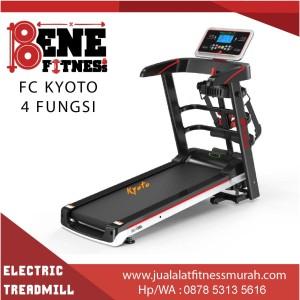 Treadmill elektrik lari alat fitness FC KYOTO 4F olahraga fitnes