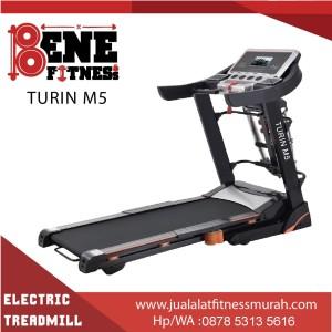 Treadmill elektrik lari alat fitness FS TURIN olahraga fitnes
