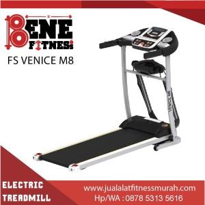Treadmill elektrik lari alat fitness FS VENICE M8 olahraga fitnes