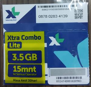Voucher Kuota XL HYBRID 4,5 GB