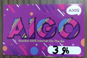 Voucher Axis Aigo 3 gb
