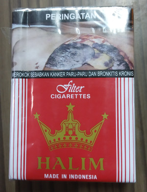 Rokok Kretek Halim Merah 20