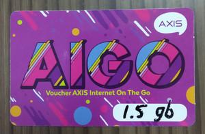 Voucher Axis Aigo 1,5 gb