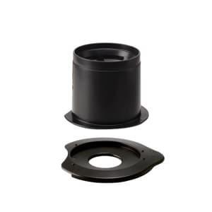 Hario V60 Dripper Metal Filter Black 01 CFOD-01B
