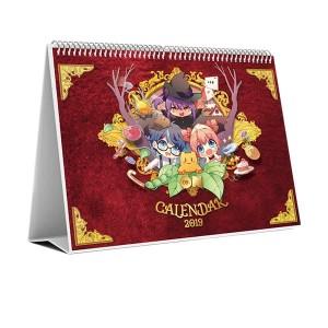 Kalender Meja 2019 Reon Dongeng Anak Dunia Desk Calendar Fairy tales