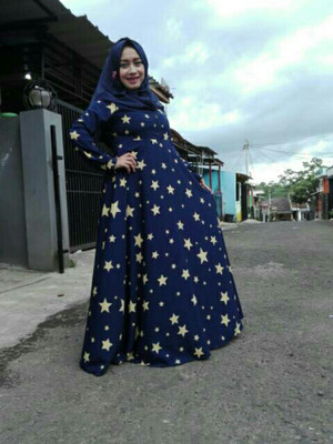 Maxi Star Navy Yellow