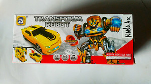mainan mobil transformasi robot universal transformation robot
