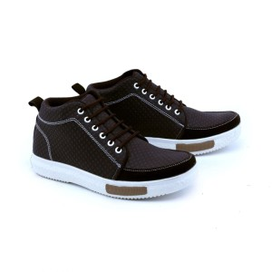 GARSEL sepatu CASUAL BOOTS pria remaja Coklat Tua GUD 1038 murah ori