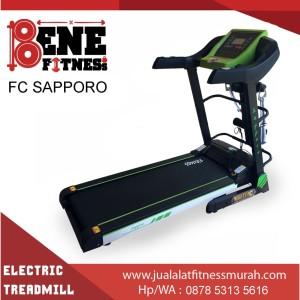 Treadmill elektrik lari alat fitness FC SAPPORO olahraga fitnes