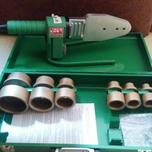 Mesin pemanas Las penyambung digital Pipa ppr 20-63