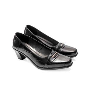 Sepatu pantofel wanita cewek kulit asli kantor kerja formal