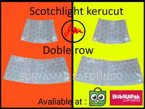 scotchlight traffic cone/skotlet kerucut/ban kerucut/lis kerucut